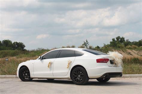 Audi A5 Singapore by Audi A5 White Back Wedding Cars Singapore