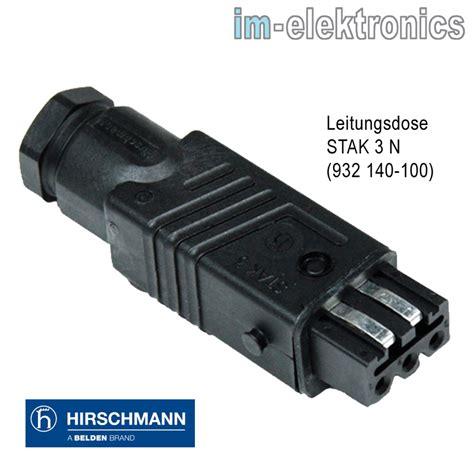jalousie stecker tolle hirschmann stecker jalousie s l300 33955 haus