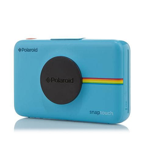polaroid snap touch instant camera with paper pack and