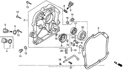 honda gc190 parts diagram honda gc190 pressure washer engine parts diagram honda gas