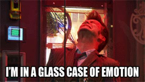 Glass Case Of Emotion Meme - 24 best reaction gifs to ron burgundy s anchorman 2
