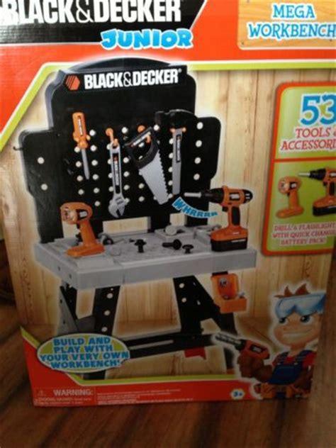 black decker toy tool bench junior power tool workshop black and decker workbench toys