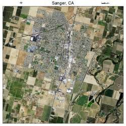sanger california map aerial photography map of sanger ca california