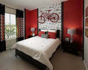 Black And White Bedroom With A Pop Of Color Daring Black And White Bedrooms With Bright Pops Of Color