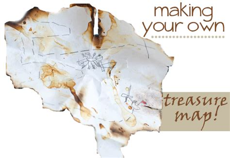 make your own map a treasure map jessicalynette