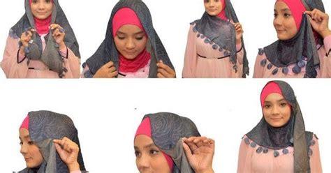 Jilbab Segi Empat Haifa Tips Memakai Jilbab Segi Empat Dengan Mudah Toko Mekkah