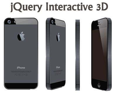 Cubisto 3d Framing Device For Showcasing Your Cell Phone And Other Gadgets by 3d Effect Jquery Plugins