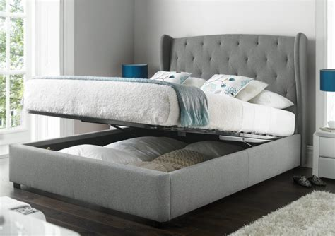 richmond bedding beds with storage richmond upholstered winged the home