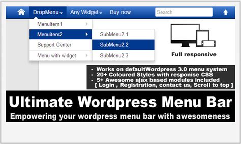 wordpress menu layout plugin 15 top wordpress dropdown menu plugins wp template