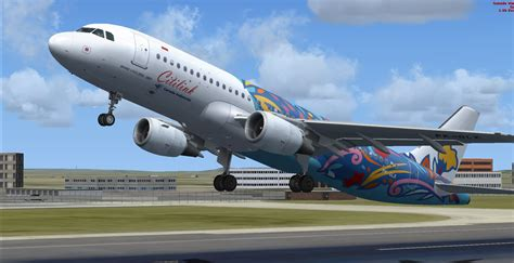 citilink airbus x livery fs freeware net fsx airbus a320 200 citilink floral