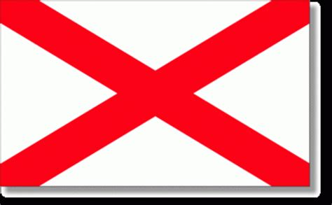 3x5 alabama state flag polyester