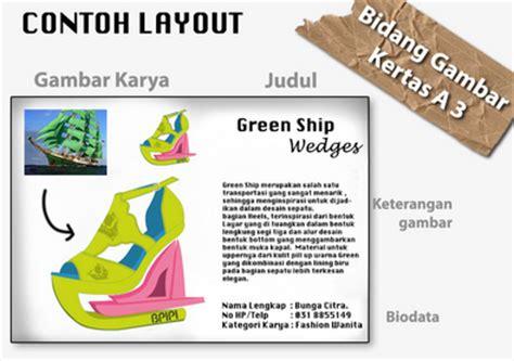 info lomba desain sepatu tingkat nasional bpipi 2015 dl 31 mei 2015 info absurditas kata