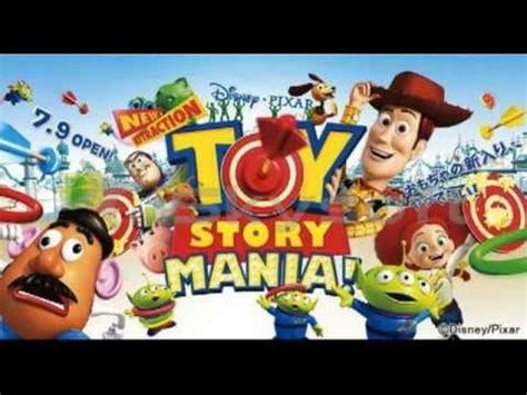 theme line toy story ios トイストーリーマニア キューラインbgm toy story mania queue line music