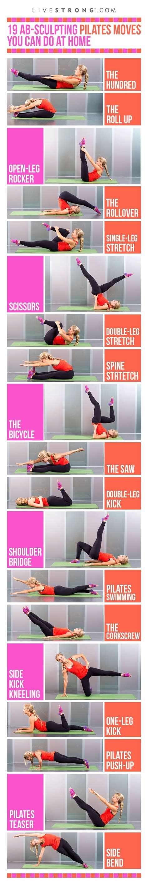 c tutorial and exercises 19 ab sculpting pilates moves you can do at home fitness