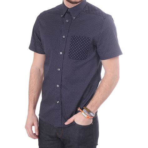 paul smith ps collection hankerchief print shirt blueberries