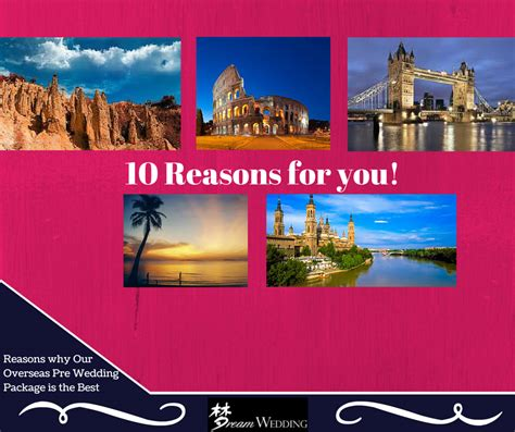 10 Reasons Why Our Wedding Rocked by 10 Reasons Why Our Overseas Pre Wedding Photoshoot Package