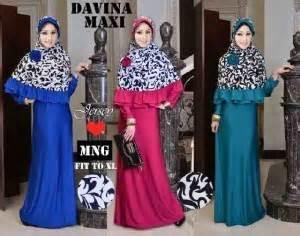 Maxi Davina Yr Pakaian Wanita Muslim Warna Fanta Orange Dan galeri gamis pesta gamis remaja