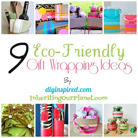 diy eco friendly decorations 9 eco friendly gift wrapping ideas diy inspired