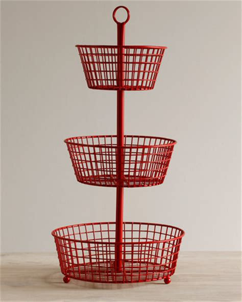 3 tiered basket