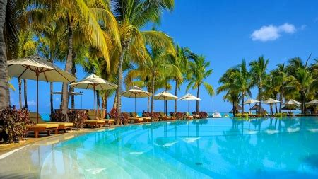 paradise resort beaches nature background wallpapers