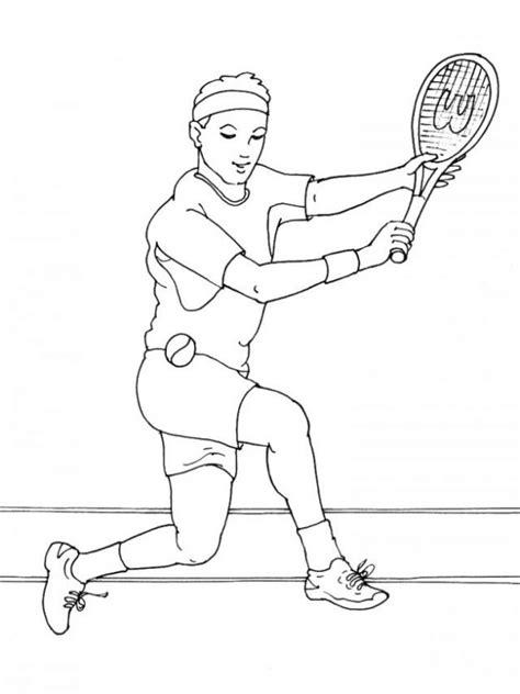 imagenes de niños jugando tenis para colorear dibujo de tenis para colorear dibujos infantiles de tenis