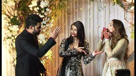 aishwarya rai wedding video aishwarya rai hubby abhishek bachchan at bipasha basu s