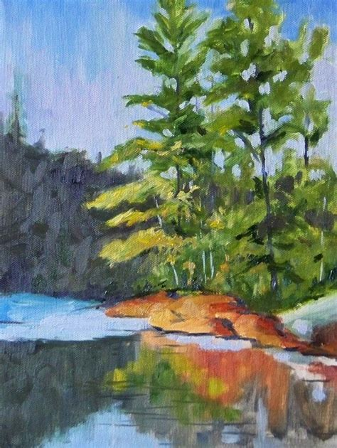 acrylic painting evergreen trees 8 best easy acrylic paintings images on easy