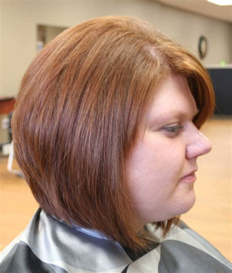 short stacked bob for fat women hairstyles for fine limp hair cool hairstyles
