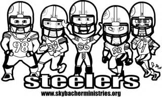 steelers coloring pages butterfly wings nfl logo coloring pages
