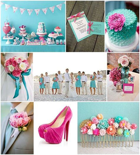 aqua green wedding ideas aqua wedding ideas with pink accents wedding inspiration
