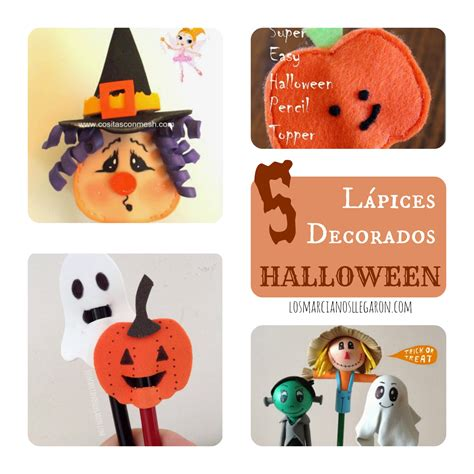 decorar para halloween manualidades 5 ideas para decorar l 225 pices en halloween