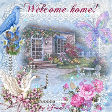 Welcome Home Cartoon Images