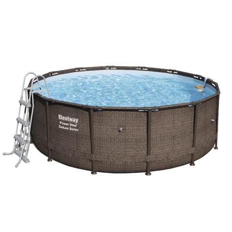 piscina best way piscina fuori terra rotonda bestway 56664 ferramenta
