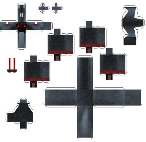 Minecraft Papercraft Black And White - papercraft black pegasus mo creatures