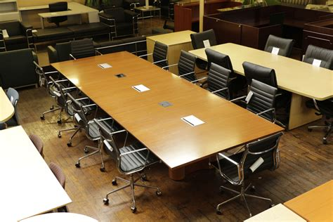 Knoll Propeller Conference Table Knoll Propeller Cherry 14 X 5 Conference Table With Teledata Peartree Office Furniture