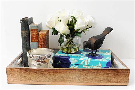 decorating your coffee table interior design diy how to style a tray for your coffee
