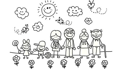 learn colors by painting a happy family what color is it