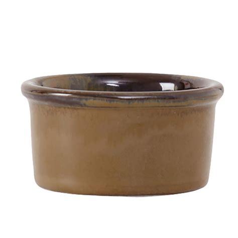 1 Oz Ceramic by Tuxton Gaj 752 2 1 2 Oz Ceramic Ramekin Mojave