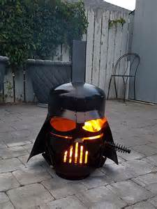 Fire Pits Chimineas Darth Vader Star Wars Inspired Wood Burning Portable Fire Pit