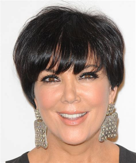 kris jenner haircut back view kris jenner hairstyle front and back views short