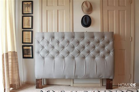 How To Tuft A Headboard by How To Make A Tufted Headboard Tutorial Tufted