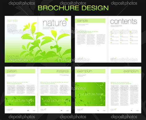 booklet brochure template 13 best photos of booklet layout template booklet