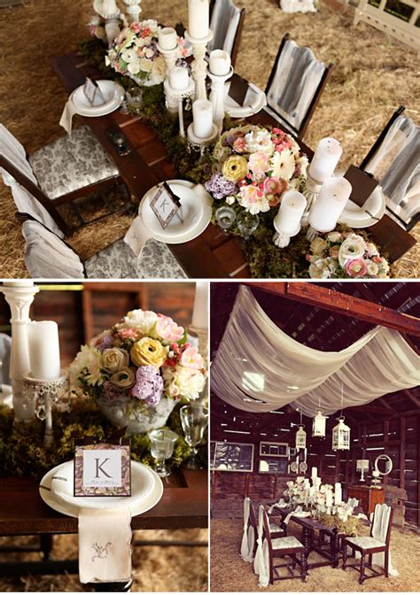 Vintage Style Wedding Decoration Ideas by A Vintage Wedding Planned With Inspiring Ideas