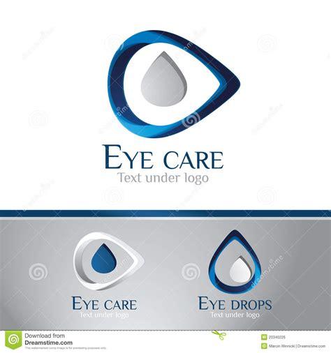 eye care logo eye care centre stock vector image of