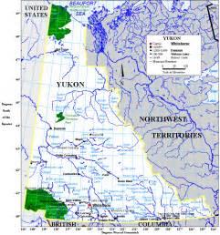 Yukon Canada Map by Geography Of Yukon Wikipedia