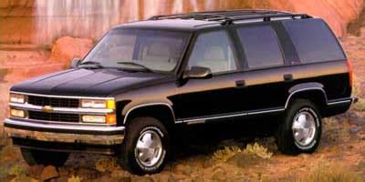 1999 chevrolet tahoe (chevy) review, ratings, specs
