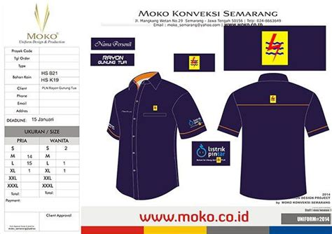Kaos Net Tv Warna Merah 42 best images about konsep desain seragam kerja moko