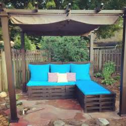 Patio Furniture Made From Pallets Blue Patio Chairs Myideasbedroom