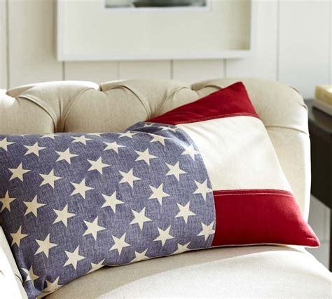 pottery barn bed pillows pottery barn flag pillow