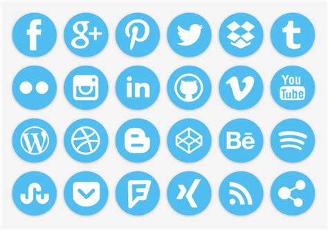 Email Search Social Networks Free Icons For Your Social Media Profiles Heinrich